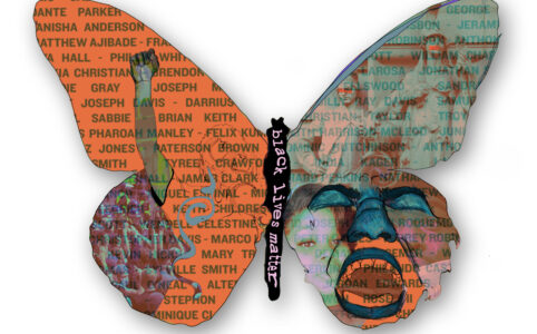 Stand Up: ArtWork(ers) Unite image of butterfly